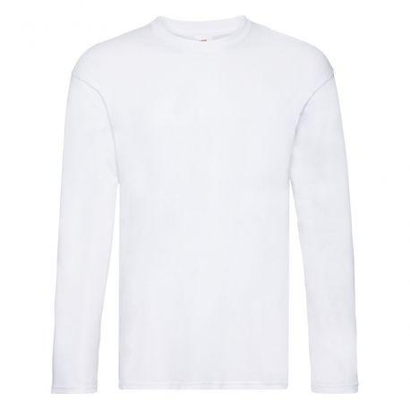 T-shirt original manches longues en coton col rond, 145 g/m²