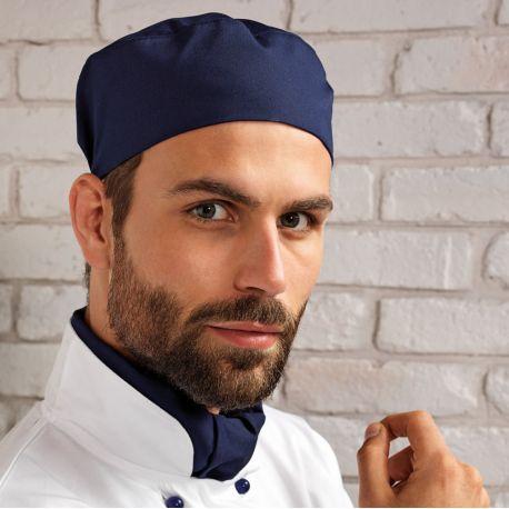 Calot de cuisiner plat infroissable, 210 g/m²