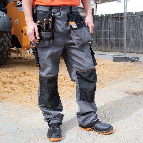Pantalon de travail épais, respirant, coupe-vent et résistant à l'eau
