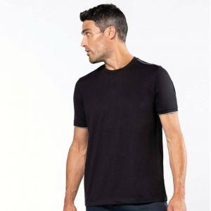 T-shirt manches courtes homme DAYTODAY, lavable à 60°c, 190 g/m²