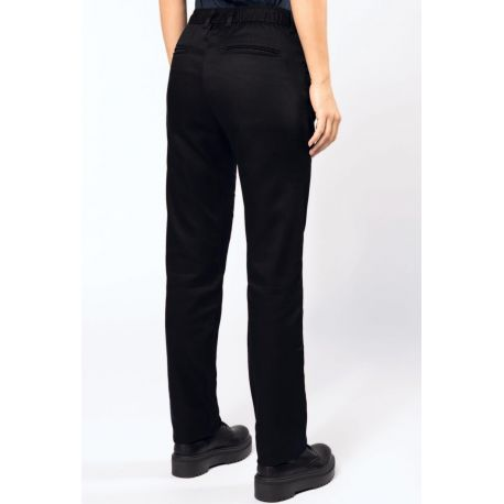 Pantalon chino femme DAYTODAY, lavable à 60°c, 190 g/m²