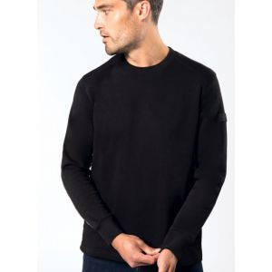 Sweat-shirt set in ultra résistant lavable à 60°C, 300 g/m²