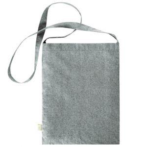 Sac à bandoulière en coton recyclé, 140 g/m²