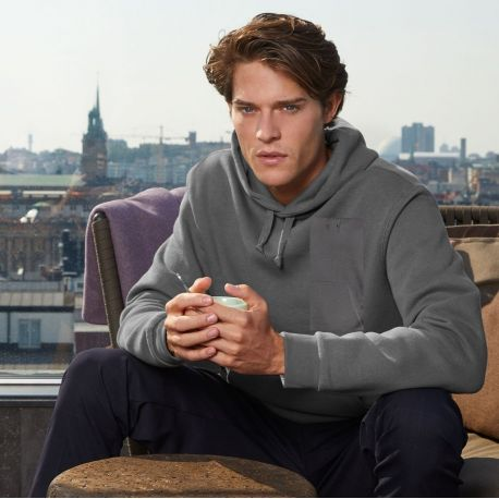 Sweat hoodie adulte bien coupé idéal pour les impressions, 280 g/m²