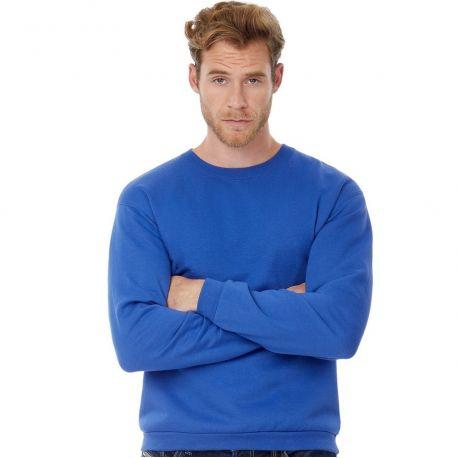 Sweat-shirt col rond sans étiquette pour la personnalisation, 270 g/m²