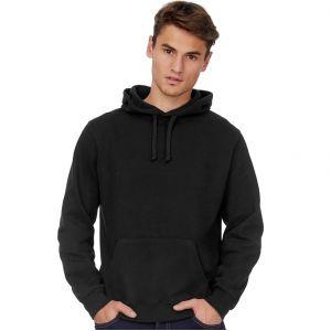 Sweat hoodie à capuche de qualité en majorité coton, 280 g/m²