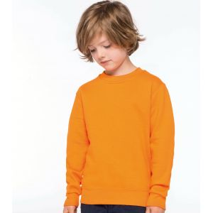 Sweat-shirt set in col rond pour enfant, 280 g/m²