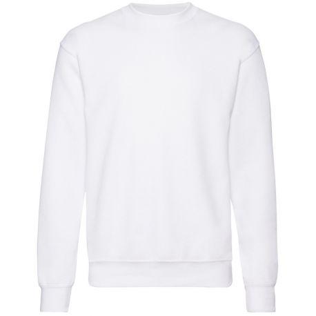 Sweat-shirt manches droites adulte en polycoton, 280 g/m²