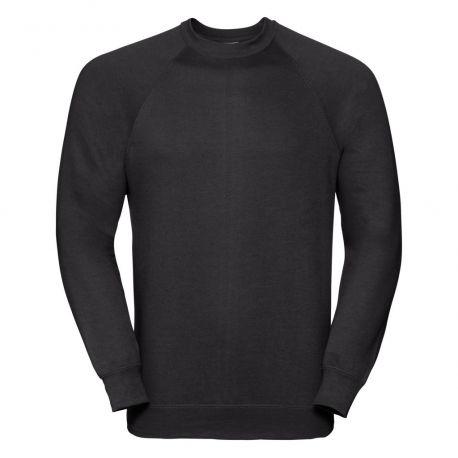 Sweat-shirt raglan coupe droite en polycoton, 295 g/m²