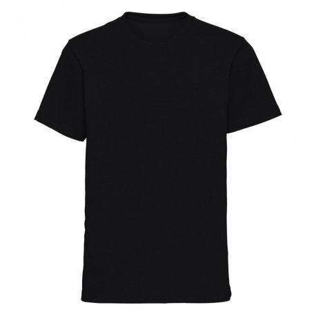 T-shirt enfant col rond manches courtes idéal pour la sublimation, 160 g/m²