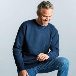 Sweat-shirt moderne à manches montées, tissu 3 couches, 280 g/m²