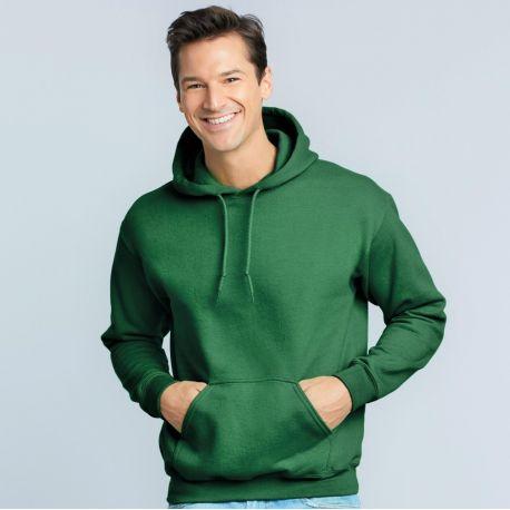 Sweatshirt à capuche doublée adulte DryBlend en polycoton, 305 g/m²