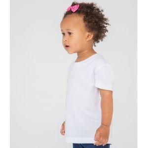 T-shirt bébé en coton biologique à manches courtes, 160 g/m²