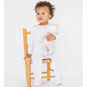 Pyjama bébé manches longues en coton biologique, 160 g/m²