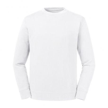 Sweat moderne en coton Pure Organic ultra doux sans étiquette, 300 g/m²