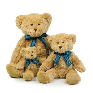 Peluche ours Bracken pour bébé, conforme norme EN71