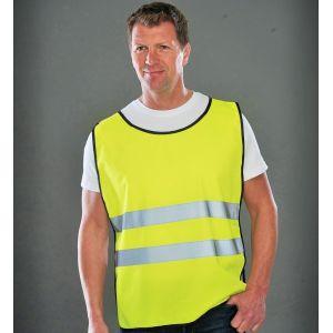 Chasuble, maillot de sécurité Haute visibilité idéal pour le sport