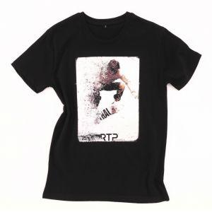 T-shirt homme pré-traité coupé cousu en coton ringspun BIO No Label, 155 g/m²