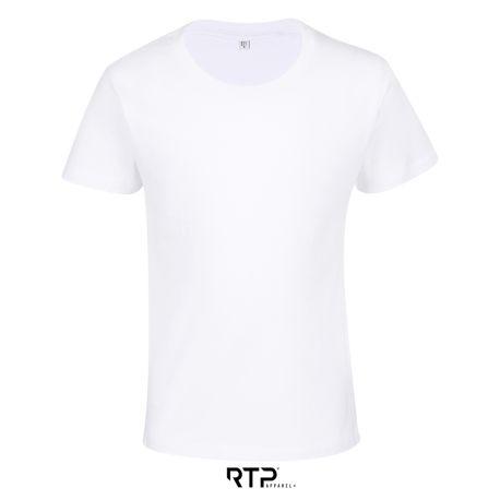 T-shirt enfant pré-traité ajusté en coton BIO No Label, 155 g/m²