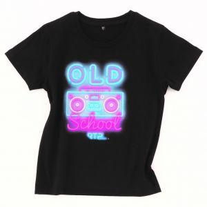T-shirt enfant pré-traité en coton BIO No Label, 145 g/m²