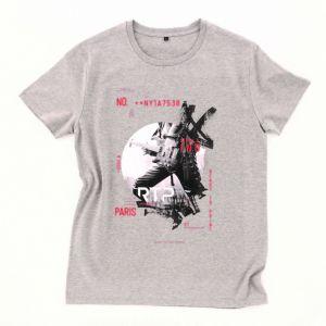 T-shirt homme pré-traité en coton BIO No Label, 185 g/m²