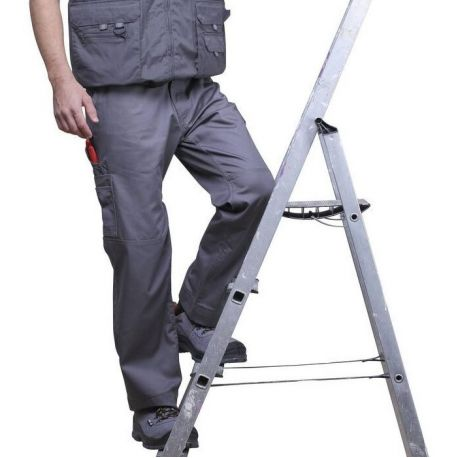 Pantalon de travail avec 12 poches extérieures, 245 g/m²