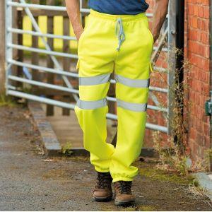 Pantalon de jogging de sécurité haute visibilité, 280 g/m²