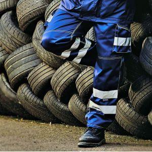 Pantalon cargo de sécurité haute visibilité multi-poches, 340 g/m²
