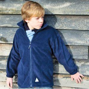 Veste polaire épaisse pour enfant polartherm avec poches, 330 g/m²