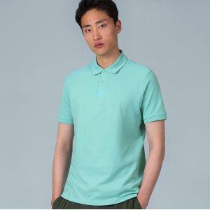 Polo inspire homme sans étiquette en coton bio, 170 g/m²
