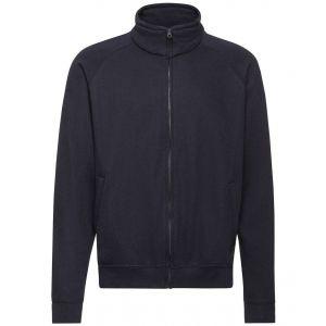 Veste sweat molletonnée et zippée avec poches, 280 g/m²
