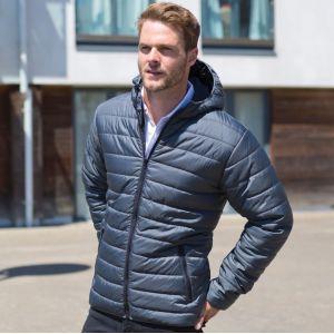 Veste doudoune douce, légère, chaude et imperméable, 160 g/m²