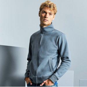 Veste sweat homme moderne avec poches, 280 g/m²