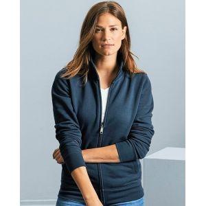 Veste sweat femme moderne avec poches, 280 g/m²