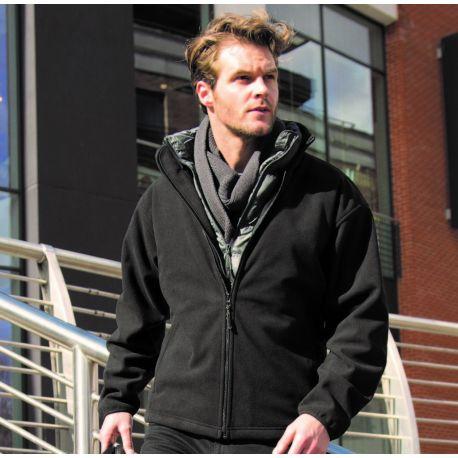 Veste polaire épaisse, chaude et waterproof, 450 g/m²