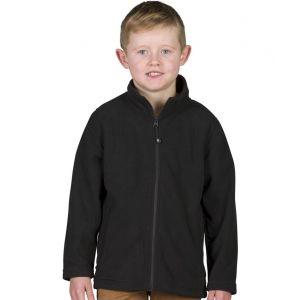 Veste micropolaire enfant antipilling avec 2 poches latérales