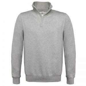 [PROMO] Sweat col zip, 80% coton, 20% polyester, 280 g/m²