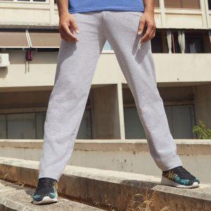 Pantalon jogging adulte léger coupe droite lightweight, 240 g/m²