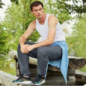Pantalon jogging adulte premium ceinture élastiquée, 280 g/m²