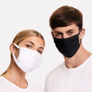 Masque barrière 3 épaisseurs en coton lavable à 60°C