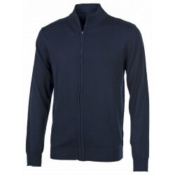 Pull grand zip 50% coton, 50% acrylique, 270 g/m²