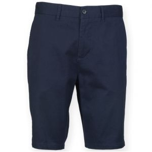 [PROMO] Short chino stretch homme sans pince, 220 g/m²
