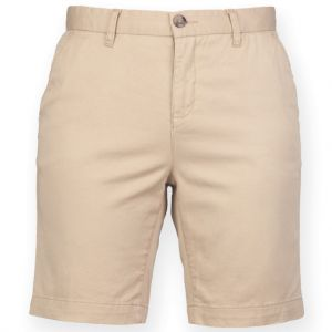 [PROMO] Short chino stretch femme sans pince, 220 g/m²