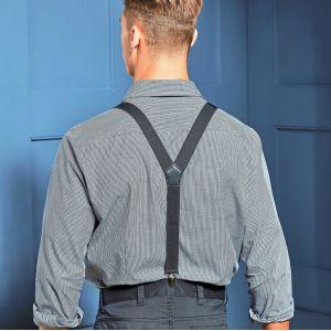 Bretelles simili cuir à pinces résistantes, dos en Y
