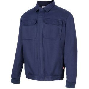 Blouson 100% coton avec 2 poches poitrine, 240 g/m²