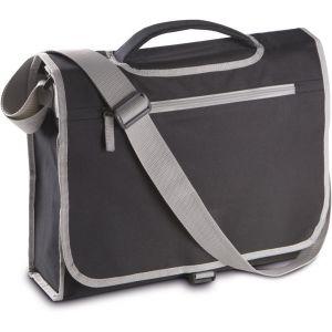 Porte-document en bandoulière facile à personnaliser, 11 litres