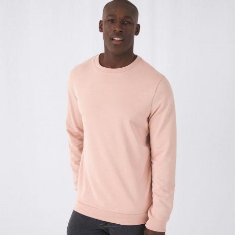 Sweat shirt set-in homme NO LABEL doux et résistant, 280 g/m²