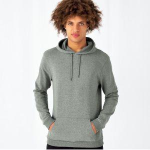 Sweat hoodie à capuche homme NO LABEL doux et résistant, 280 g/m²