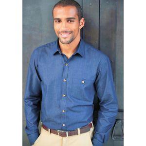 Chemise Jasper pour homme douce et confortable à porter, 140 g/m²