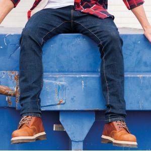 Pantalon multipoches en coton sergé confort et résistant, 245 g/m²